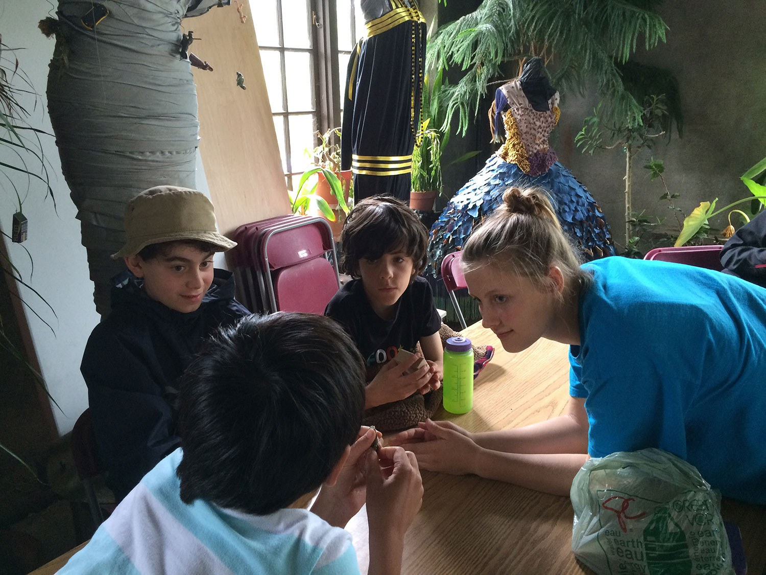 During the 2015 Spadina Camp, I developed and led an artifact workshop for the campers.
