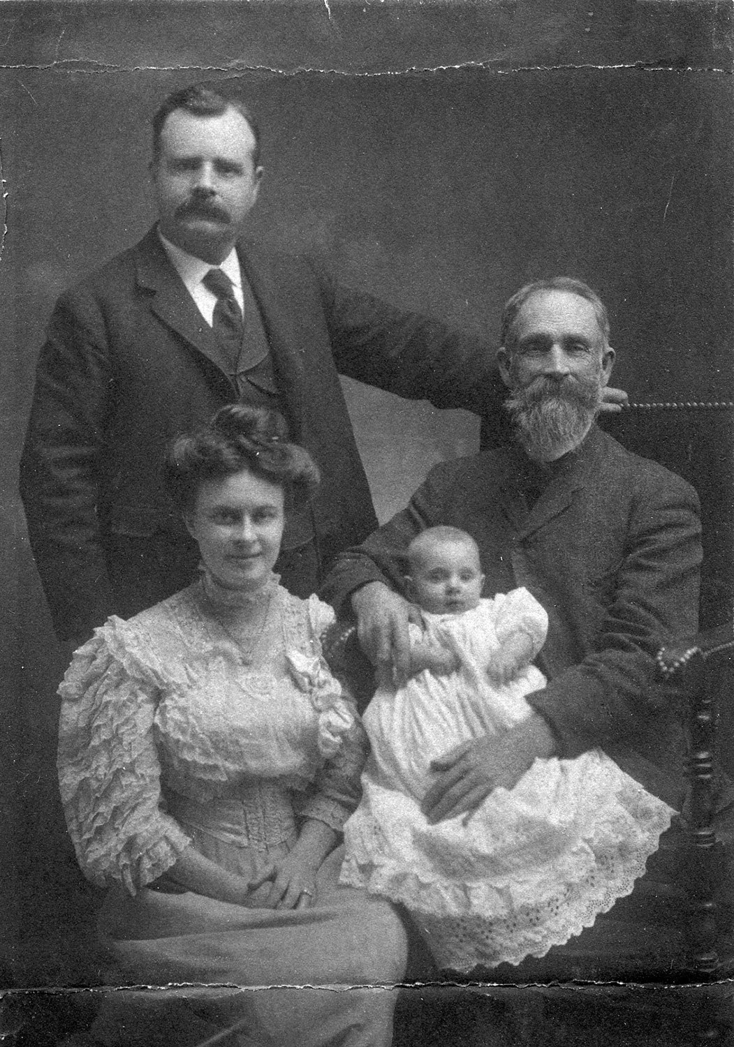 Four generations of the Williamson family