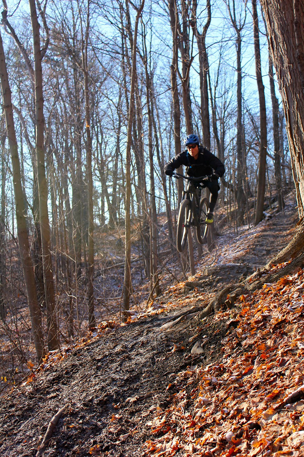 Cycling in the Don Valley